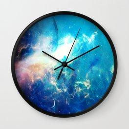 Stars Painter Wall Clock