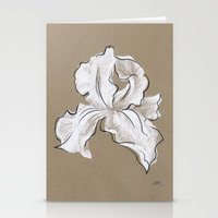 iris Stationery Cards featuring Iris  by Mich Li