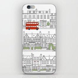 London houses iPhone Skin