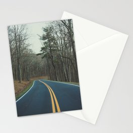 Road to finding yourself Stationery Cards