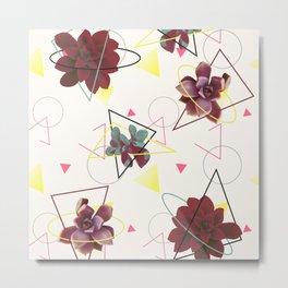 Spatial Succulents #redbubble #decor #buyart Metal Print