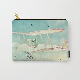 Never Stop Exploring III - THE SKY Carry-All Pouch