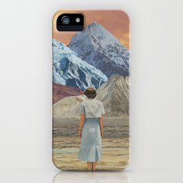 What is it about sunsets? iPhone Case