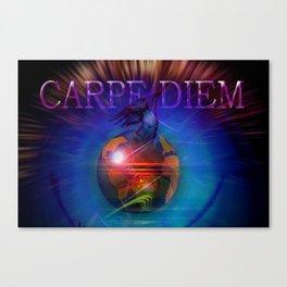 Carpe Diem 20 Canvas Print