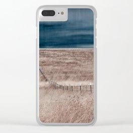 The Borderlands Desert Landscape Clear iPhone Case