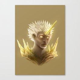 Crystal Contamination 1 Canvas Print