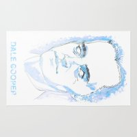 dale cooper Area & Throw Rugs featuring Dale Cooper by kjell