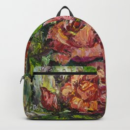 Degas Roses Backpack