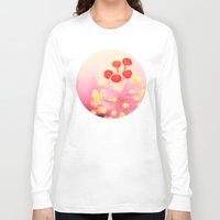 hibiscus Long Sleeve T-shirts featuring Hibiscus by Laura Ruth