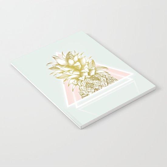 Golden Pineapple Notebook