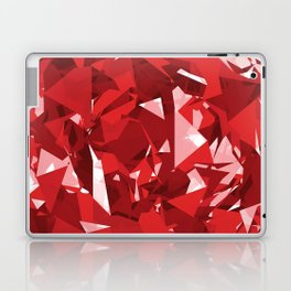 Abstract Red Laptop & iPad Skin