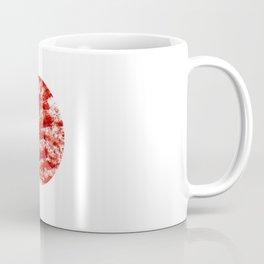 Flag of japan 2- Chalk version. Coffee Mug