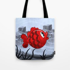 RED & BLUE Tote Bag