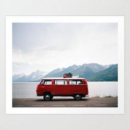 Travel life Art Print
