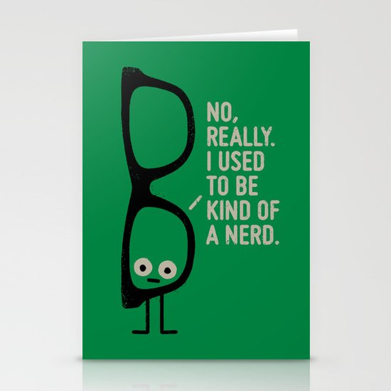 Nerd Is the New Black Stationery Cards
