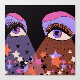 Star Gaze Canvas Print