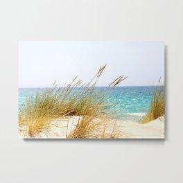 Relaxing View (sea) Metal Print