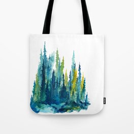 Limelight Pines - Pine Forest Tote Bag