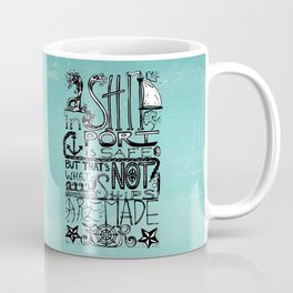 A Ship in Port Coffee Mug