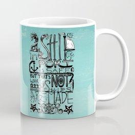 A Ship in Port Coffee Mug