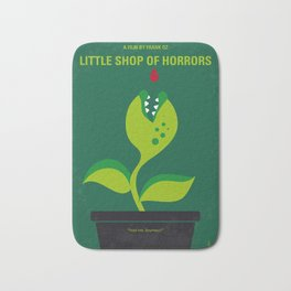 No611 My Little Shop of Horrors minimal movie poster Bath Mat