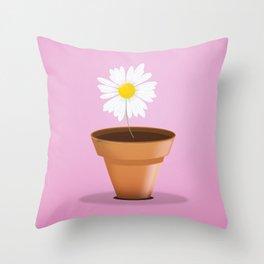 Little Daisy Throw Pillow