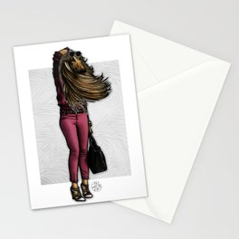 Trendy Wendy, Afghan Hound Stationery Cards
