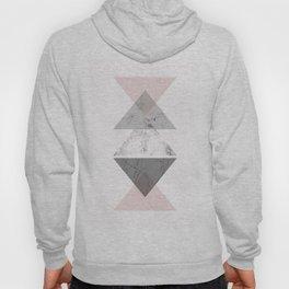 Triangle pattern modern geometric abstract Hoody