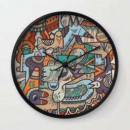 Punky Redux Wall Clock
