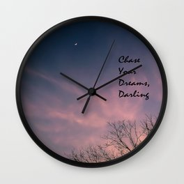 Dream Chaser Wall Clock