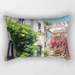 Portugal, Obidos (RR 182) Analog 6x6 odak Ektar 100 Rectangular Pillow