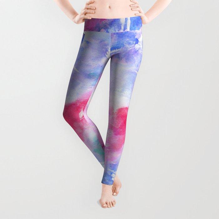 Abstract 66 Leggings