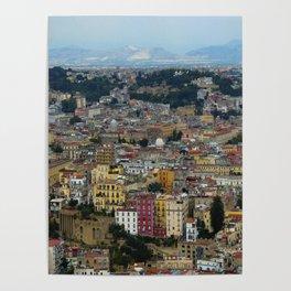 Napoli view Poster