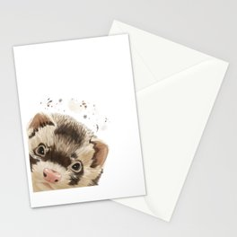 Curious Ferret Stationery Cards