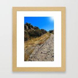Dust and Dirt Framed Art Print