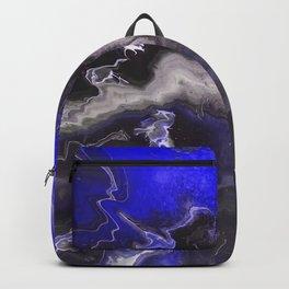 Purple Blue Lightning Backpack
