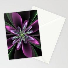 Fantasy Flower Fractal Stationery Cards