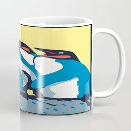 Four Penguins Coffee Mug