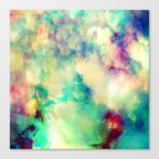 Fume Color Splash 02 Canvas Print