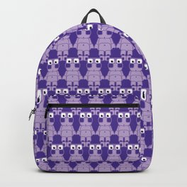 Super cute cartoon purple pig - bring home the bacon with everything for the pig enthusiasts! Backpack
