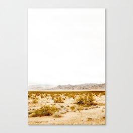 -hot desert- Canvas Print