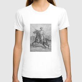 Colonel Theodore Roosevelt On Horseback T-shirt