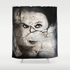 Damage Shower Curtain