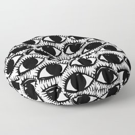 Inky Eyes Floor Pillow