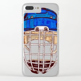 Hasek - Mask Clear iPhone Case