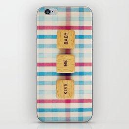 Kiss Me Baby iPhone Skin
