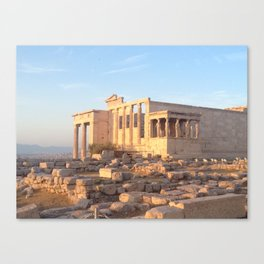 The Acropolis in Athens, Greece Canvas Print