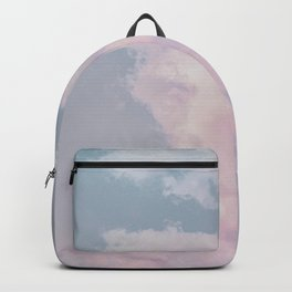 cotton candy skies vii Backpack