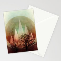 TREES under MAGIC MOUNTAINS I Stationery Cards