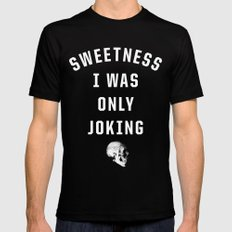 Sweetness Black MEDIUM Mens Fitted Tee
